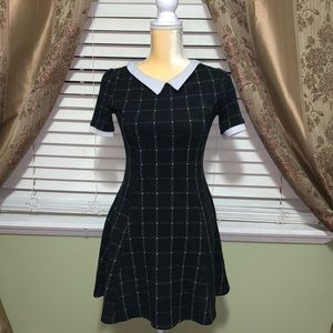 White Collar Schoolgirl Dress